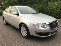 2007 vw passat 2.0 tdi s 140bhp saloon SERVICE HISTORY LONG MOT GREAT RUNNER