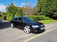 Audi A4 Avant 1.8t (190) Quattro S-line 2004/04 FSH Manual Leather HPI CLEAR 0 PREVIOUS OWNERS £3750