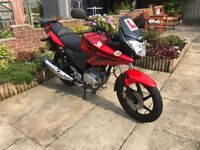 Honda CBF 125 - low mileage