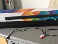 Boxed Polaroid soundbar
