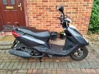 2012 Yamaha Vity 125 automatic scooter, new 12 months MOT, 1 owner from new, good runner, not ps sh,
