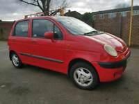 Daewoo matiz with low mileage ,, small engine One year MOT ,, call Zain on 07903496696