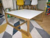 Habitat Kenstal white coffee table