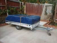 Jamet 4 berth caravan trailer with awning see pics wow