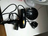 Babyliss hairdryer with diffuser