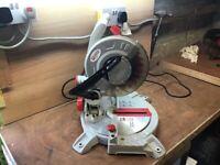 Pro 1400w compound mitre chop saw