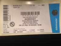 Morrisey Ticket