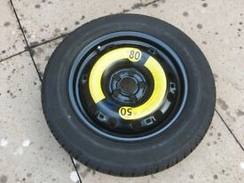 """VW POLO MK5 6R 2009-ON NEW GENUINE 15"""" STEEL RIM WITH TYRE"""