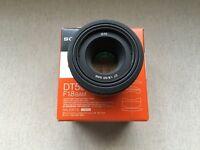 Sony 50mm 1.8 DT SAM Lens