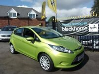 FORD FIESTA 1.4 Style + 5dr Auto (green) 2009