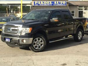 2013 Ford F-150 XLT 4X4*SUPER CREW CAB*LEATHER*HEATED SEATS*BLUE