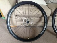 Cannondale Wheelset C2 Disc 700C with Shimano Deore Hubs, Bontrager Tyres & Magura Storm SL Rotors