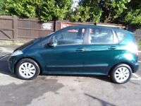 Mercedes A180 CDI Elegance in Metallic Green, Alloys with new tyres, Very good condition