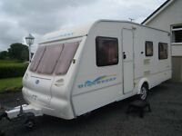 Bailey caravan 4-5 berth 2003