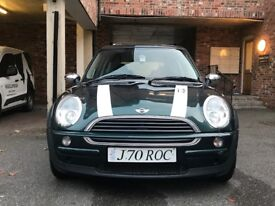 An excellent Mini Cooper for sale