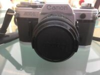 Canon AE1 35mm Film Camera with 50mm Canon lens