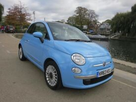 Fiat 500 1.2 Lounge 3dr *Great Spec* 1 Owner * Panoramic Roof * Leather Trim *