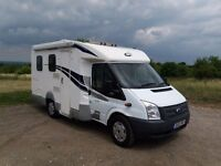 Ford CI Carioca 200 4 berth Motorhome Campervan 21470 miles .compact for town storage and use