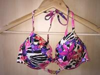 Victoria's Secret bathing suit top size 34C, built in padding