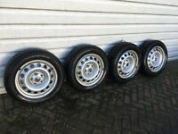 Mini Countryman Steel Wheels & Winter Tyres - Nearly New