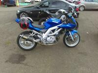 2004 Suzuki sv650s swap for tourer or muscle bike