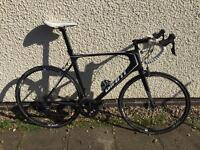 Giant road bike. Loads of extras. Reduced price!