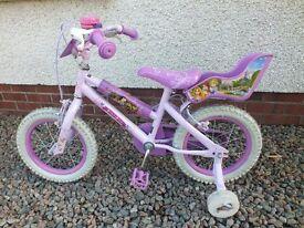 Princess bicycle for sale