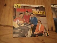 Vinyl Record 45rpm Bobby Vee Meets The Crickets 1962