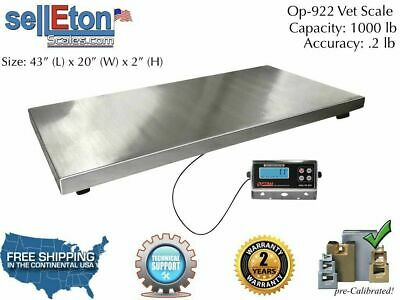 Op-922 Vet Livestock Scale Hog Goat Sheep Alpaca Pig Farm Scale