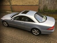 Mercedes Benz CL 5.0 CL500 Coupe 2dr 2004 Reg Only 60k Miles Full Service History