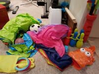 Bundle of outdoor toys