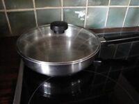 Meyer stainless steel frying pan