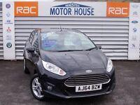 Ford Fiesta ZETEC (£30.00 ROAD TAX) FREE MOT'S AS LONG AS YOU OWN THE CAR!!! (black) 2015