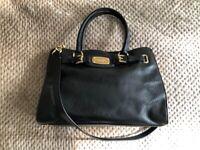 1d6ad968b197 Authentic Michael Kors Hamilton Handbag Black