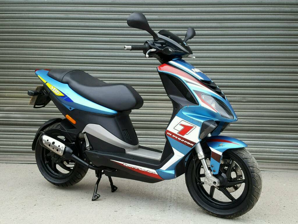 2008 piaggio nrg 50cc scooter low mileage *full mot* | in taverham