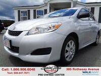 2011 Toyota Matrix Base $121.60 BI WEEKLY!!!