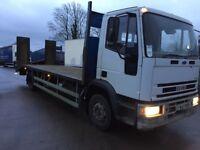 1998 Iveco Eurocargo 12 ton 24 ft plant lorry