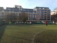 Looking to play friendly football at Old Street, Central London? We need players!