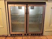 GAMKO double glass door display fridge