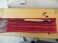 SHAKESPEARE 2.4M TRAVEL FLY ROD 1717-240 5 PIECE AFTM 5/6