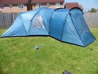 9 Person Camping Tent. 'Coleman Michigan' *GREAT CONDITION*