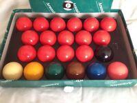 Armarith snooker balls