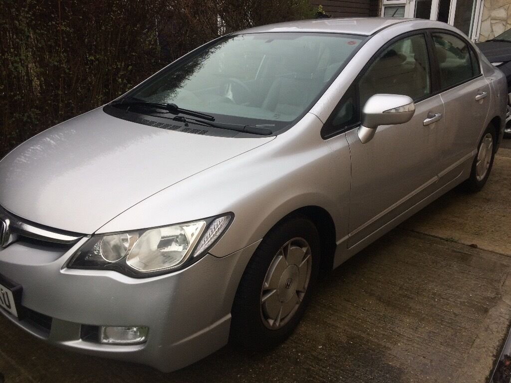 honda civic hybrid 2008 silver automatic in fareham hampshire gumtree. Black Bedroom Furniture Sets. Home Design Ideas