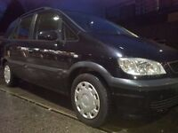 VAUXHALL ZAFIRA DTI 7 SEATER 2 OWNER 2004 TURBODIESEL 12 MONTHS MOT! LOW MILEAGE ROOFBARS AC 1095 !