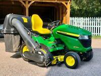 "John Deere X584 Ride on mower - 48"" deck - lawnmower - Countax / Honda"