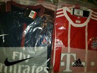 PSG & Bayern Munich Shirts BNWT