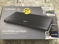 Brand new - Samsung Ultra HD Blu-ray Player.