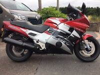 Honda cbr1000f 99 reg cbr 1000f one of the last made/may px ifor williams trailer