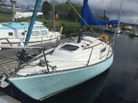 Lovely Sadler 25 4 Berth Sailing Yacht