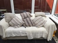 Bed Settee, once cushions washed good as new!